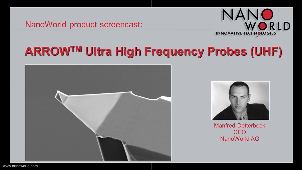 NanoWorld Arrow™ Ultra High Frequency Probes (UHF) thumb
