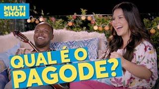 Qual é o pagode? | Fernanda Souza + Thiaguinho | Vai Fernandinha | Multishow