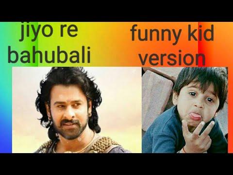 Download thumbnail for Jiyo re bahubali funny kid version