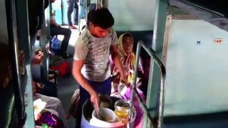 Food On Wheels of Indian Railways | Very Popular Masala Bhel Puri width=