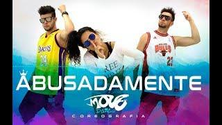 ABUSADAMENTE - MC Gustta e MC DG - Move Dance Brasil - Coreografia