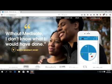 Prezentarea unei aplicatie medicinale ajutand la reamintirea administrarii pastilelor
