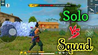 Free Fire Ranked Match Solo Vs Squad Tricks&Tips Tamil | Solo Vs Squad Tricks | Ranked Match Tips