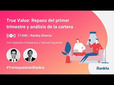 En este webinar Alejandro Estebaranz, asesor del fondo True Value, hará un repaso de la evolución del fondo durante el primer trimestre de 2020 y comentará las principales novedades en las carteras.