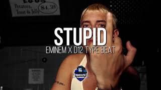 "EMINEM TYPE BEAT ""STUPID""   SILLY FRANTIC RAP INSTRUMENTAL 2018"