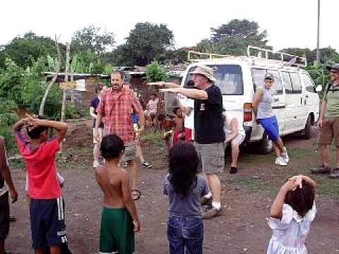 Ministry in manchester slum, Managua, Nicaragua