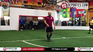 Penales CD Vagos vs. León Final Veteranos Liga Interamericana