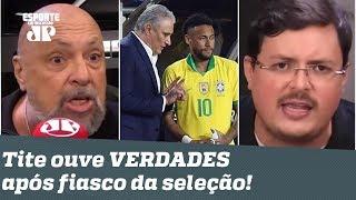 Culpa do gramado? Tite ouve VERDADES após FIASCO da Seleção para o Peru!
