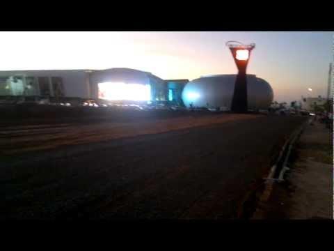 Morocco Mall – Éclairage nocturne (27-11-11)