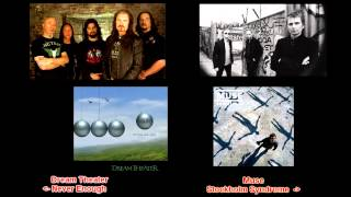 Dream Theater & Muse similar songs (Never Enough & Stockholm Syndrome) Stereo