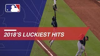 The luckiest hits from 2018