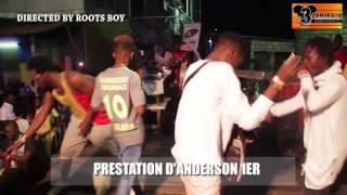 PRESTATION D'ANDERSON 1ER   AU CONCERT LIVE DE DJ LEO AU NPA