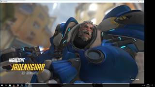 Overwatch Uprising - Playing Reinhardt ft. Amon Amarth - Valhall awaits me
