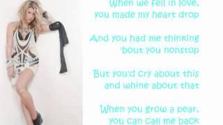 Kesha - Grow a Pear (Lyrics)