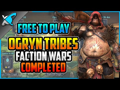 """""""F2P"""" OGRYN TRIBES Faction Wars COMPLETED !! 