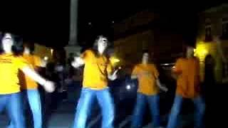 Demonstração de danças do dia 23 de Agosto