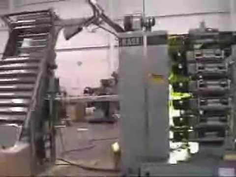KASE EQUIPMENT yüksek hızlı bardak baskı makinesi.wmv