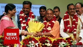 Yogi Adityanath: Priest & politician leading India's most populous state - BBC News