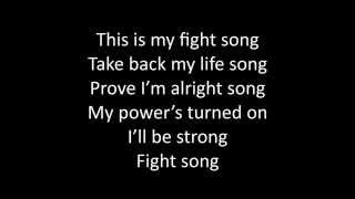 Timeflies - Fight Song Lyrics