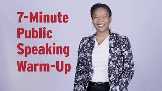 Public Speaking Warm-Up