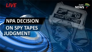 NPA announce decision on spy tapes judgment width=
