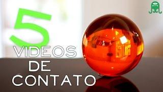 OS 5 VÍDEOS DE MALABARISMO DE CONTATO QUE MAIS GOSTO - My 5 favorite contact juggling videos!