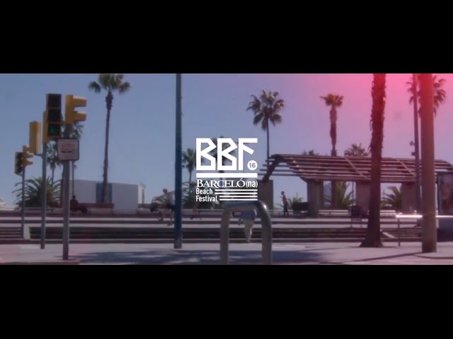 Aftermovie del Barcelona Beach Festival 2016.