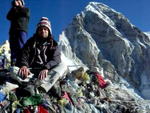 Summit of Kala Patthar, near Everest base camp