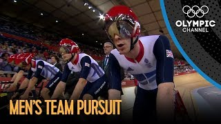 Team GB Set New Team Pursuit World Record - London 2012 Olympics