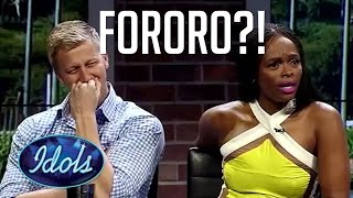 Fororo? Are You Feeling Lucky? Crazy Singer Funny Audition | Idols Global