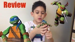 Review tartarugas ninjas - Léo e rafa - multikids