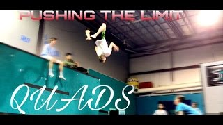 PUSHING THE LIMITS OF TRAMPOLINE (QUADS)