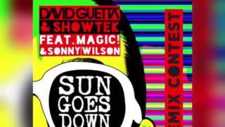 David Guetta & Showtek ( ft. MAGIC! & Sonny Wilson ) - Sun goes Down ( NyKKoRMK Remix )