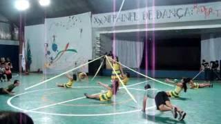 XXXII Painel de Dança da Ed. Física - Ginástica Rítmica (bola e fita))