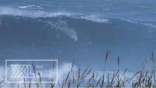 Andrew Cotton at Nazare - 2015 Billabong Ride of the Year Entry - XXL Big Wave Awards