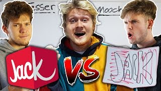 JESSER & MOOCHIE TRY DRAWING LOGOS FROM MEMORY!