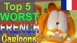 Top 5 Worst French Cartoons width=