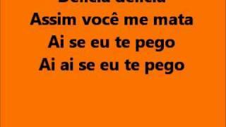 Michel Telo - Ai se eu te pego lyrics