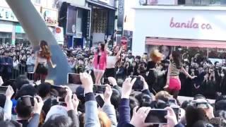 프로듀스101 Produce101 Live Public Performance Pinkrush Fingertips