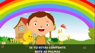 Se Tu Estás Contente | Jardim de Infância Vol. 4