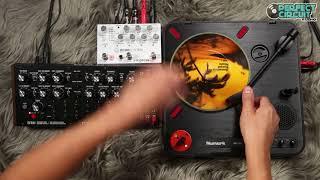 Numark PT01 Mini Scratch Turntable With Empress Echosystem and DFAM