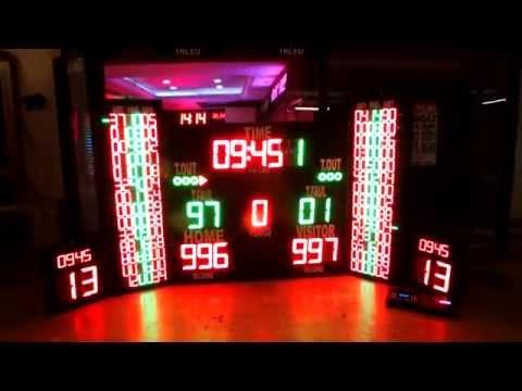 28-BASKETBOL-VOLEYBOL-HENTBOL- NBA TİPİ SKORBORD '' 0212 222 0 950 - 57 -58''
