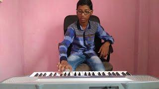 "Rising Sun ""Shinsuke Nakamura Theme song"" || Piano cover by Indian boy"