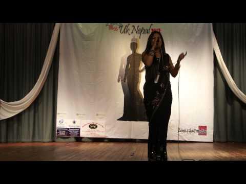 Gori Bhane Ni Bhana Live Cover (Miss UK Nepal 2012)