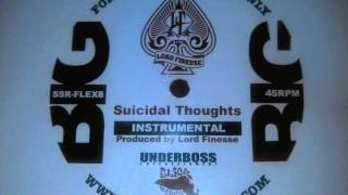 Lord Finesse - Suicidal Thoughts (Instrumental) (Lord Finesse Prod. 1994)