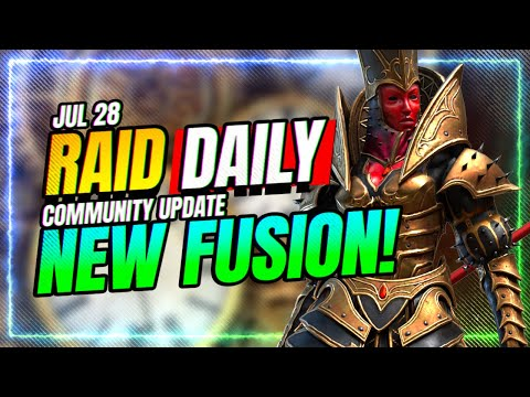 😲ANOTHER Fusion ALREADY?! IS SHE GOOD? | RAID Shadow Legends