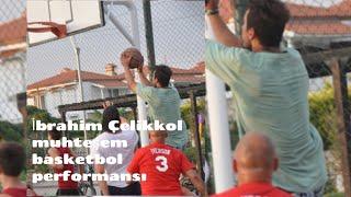 Siyah Beyaz Aşk Dizisi basketbol performansı İbrahim Çelikkol'un