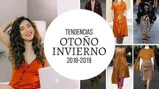 TENDENCIAS DE MODA PARA OTONO INVIERNO  2018-2019 | JORYCK