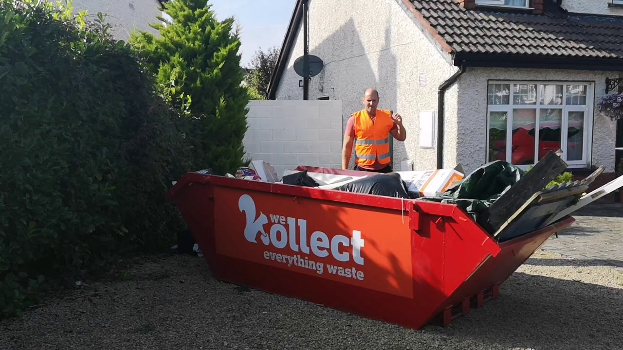 When an Irish Man Orders a Skip