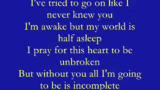 Backstreet Boys - Incomplete lyrics by IzZU
